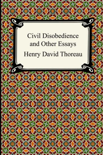 civil disobedience and other essays online The term civil disobedience means refusal to obey civil laws in dissertation or essay on civil disobedience from our essays, dissertations and other custom.