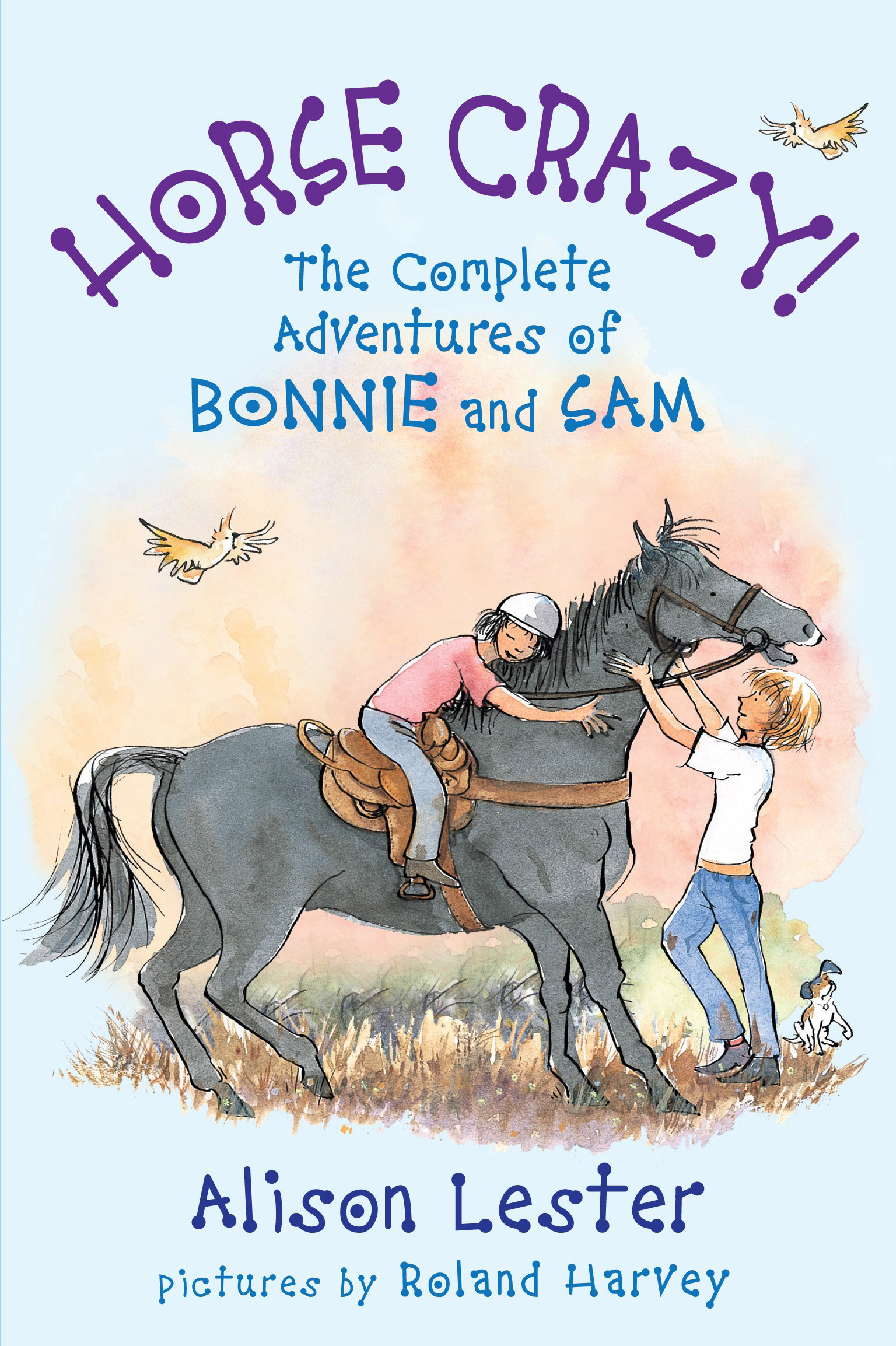Horse Crazy! The Complete Adventures of Bonnie and Sam by Alison Lester And Roland Harvey, ISBN: 9781741758306