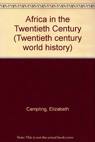 Africa in the Twentieth Century