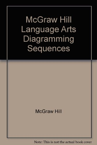 McGraw Hill Language Arts Diagramming Sequences by McGraw Hill, ISBN: 9780022453367