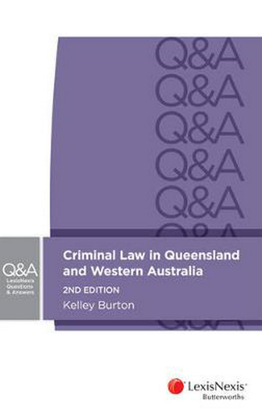 LexisNexis Questions & AnswersCriminal Law in Queensland and Western Australi...