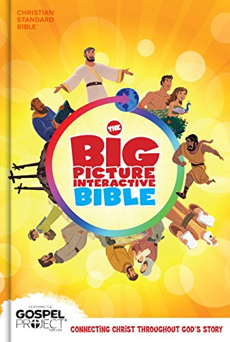 The CSB Big Picture Interactive Bible, HardcoverBig Picture Interactive / The Gospel Project