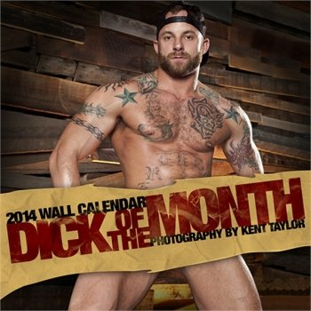 Raging Stallion Studios Dick of the Month 2014 Wall Calendar