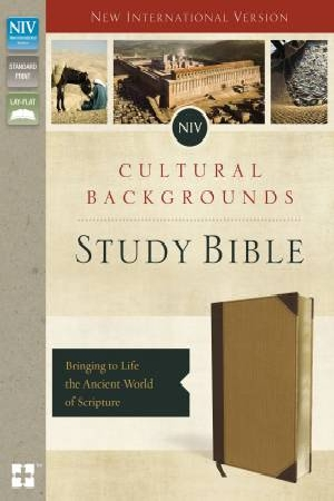 NIV, Cultural Backgrounds Study Bible, Imitation Leather: Bringing to Life the Ancient World of Scripture