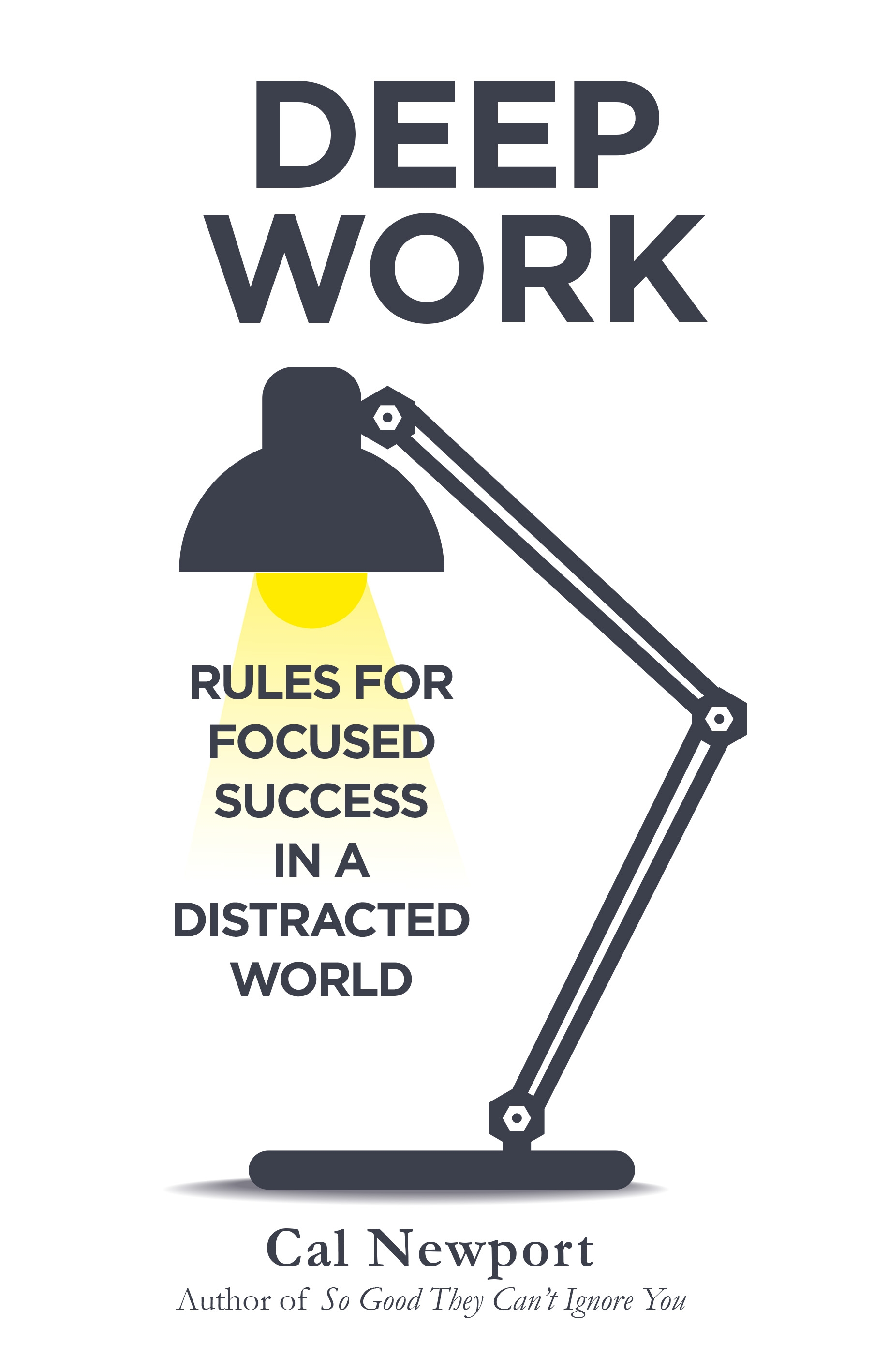 Deep Work: Rules for Focused Success in a Distracted World by Cal Newport, ISBN: 9780349411903