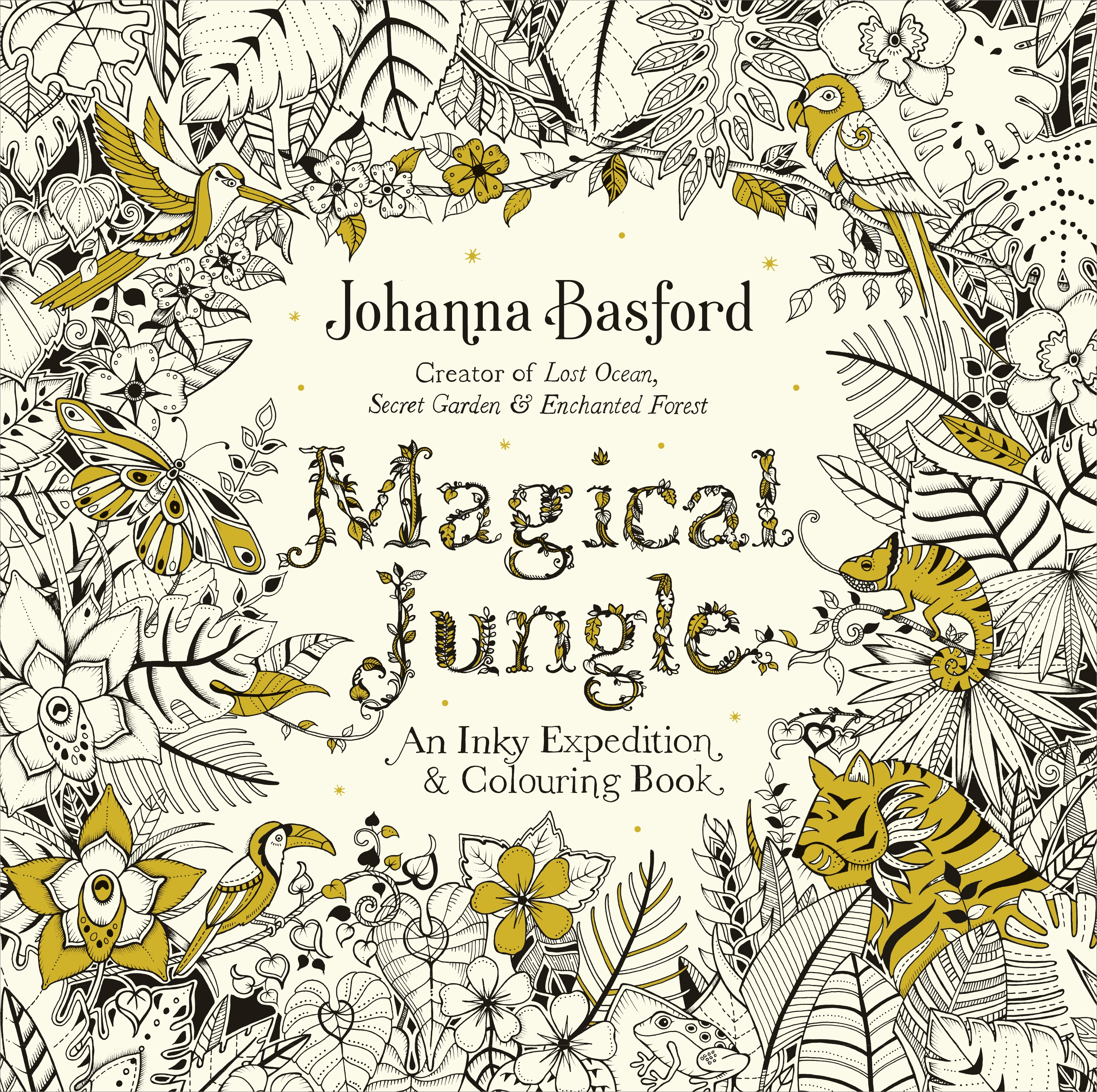 Forbidden Jungle: An Inky Expedition and Colouring Book by Johanna Basford, ISBN: 9780753557167