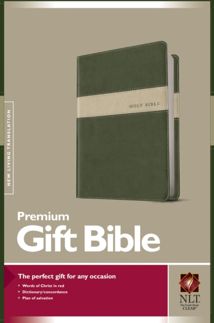 Premium Gift Bible-NLT by No Author, ISBN: 9781414363400