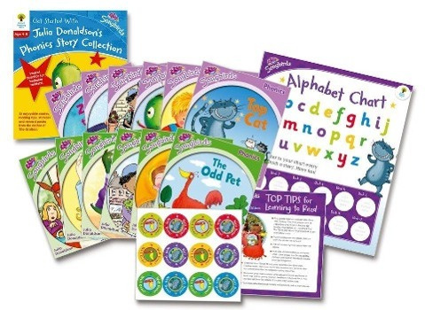 Oxford Reading Tree Songbirds: Levels 1+ and 2: Get Started With Julia Donaldson's Phonics Story Collection