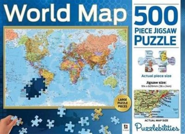 World Map500 Piece Jigsaw Puzzle