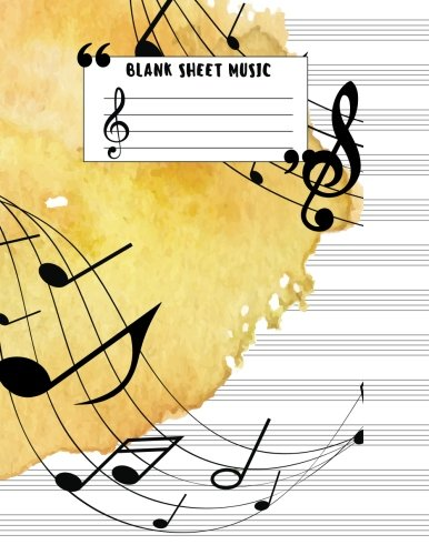 Booko Comparing Prices For Blank Sheet Music Large Print 8