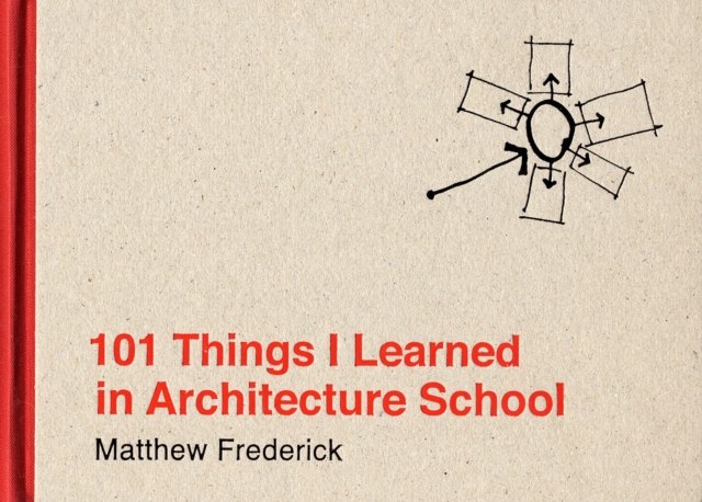 101 Things I Learned in Architecture School by Matthew Frederick, ISBN: 9780262062664