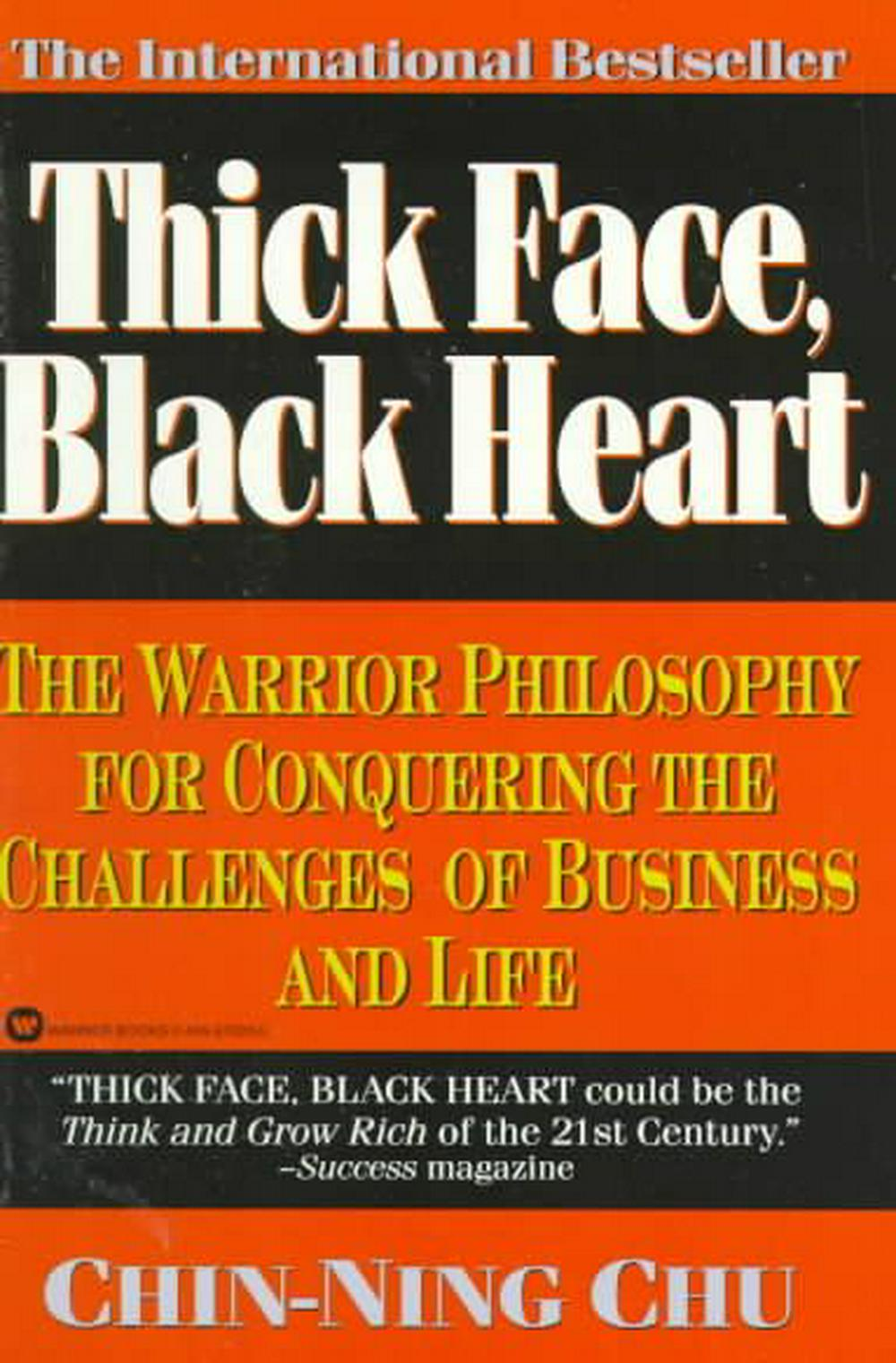 Cover Art for Thick Face, Black Heart, ISBN: 9780446670203
