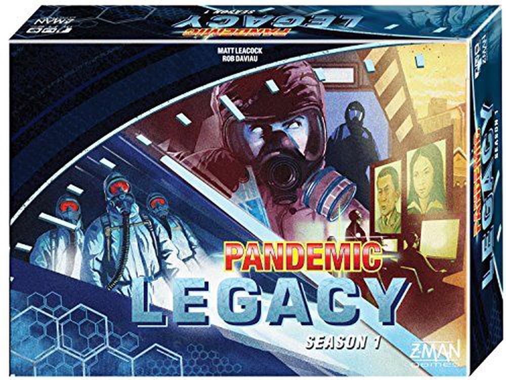 Pandemic Legacy Blue Board Game by PSI / Z-man, ISBN: 0681706711706