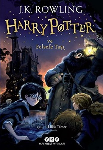 Harry Potter & Philosopher Stone in Turkish