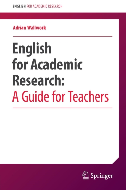 English for Academic ResearchA Guide for Teachers