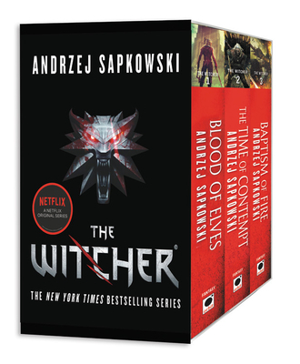 The Witcher Boxed SetBlood of Elves, the Time of Contempt, Baptism o...