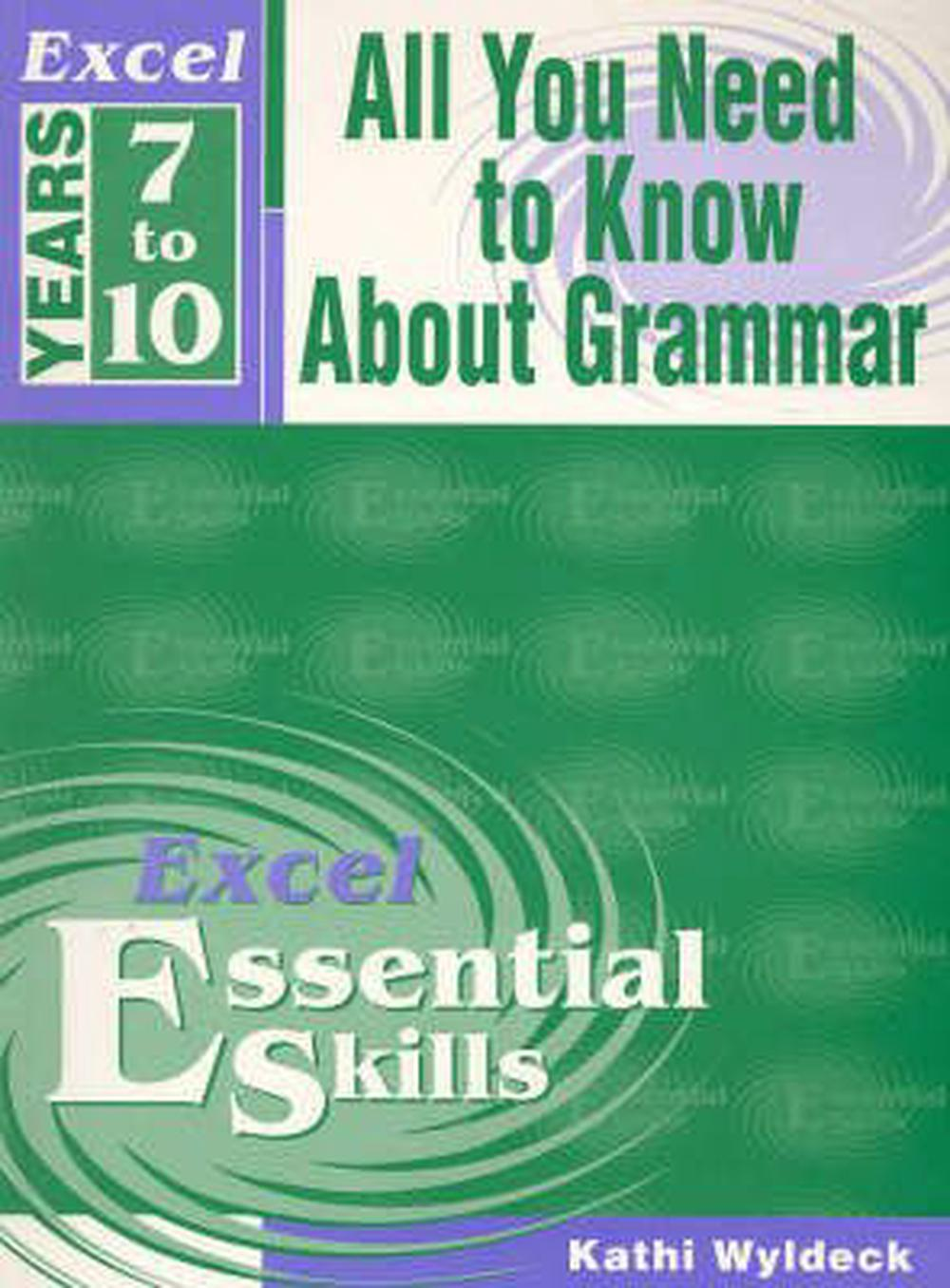 Excel All You Need to Know about Grammar