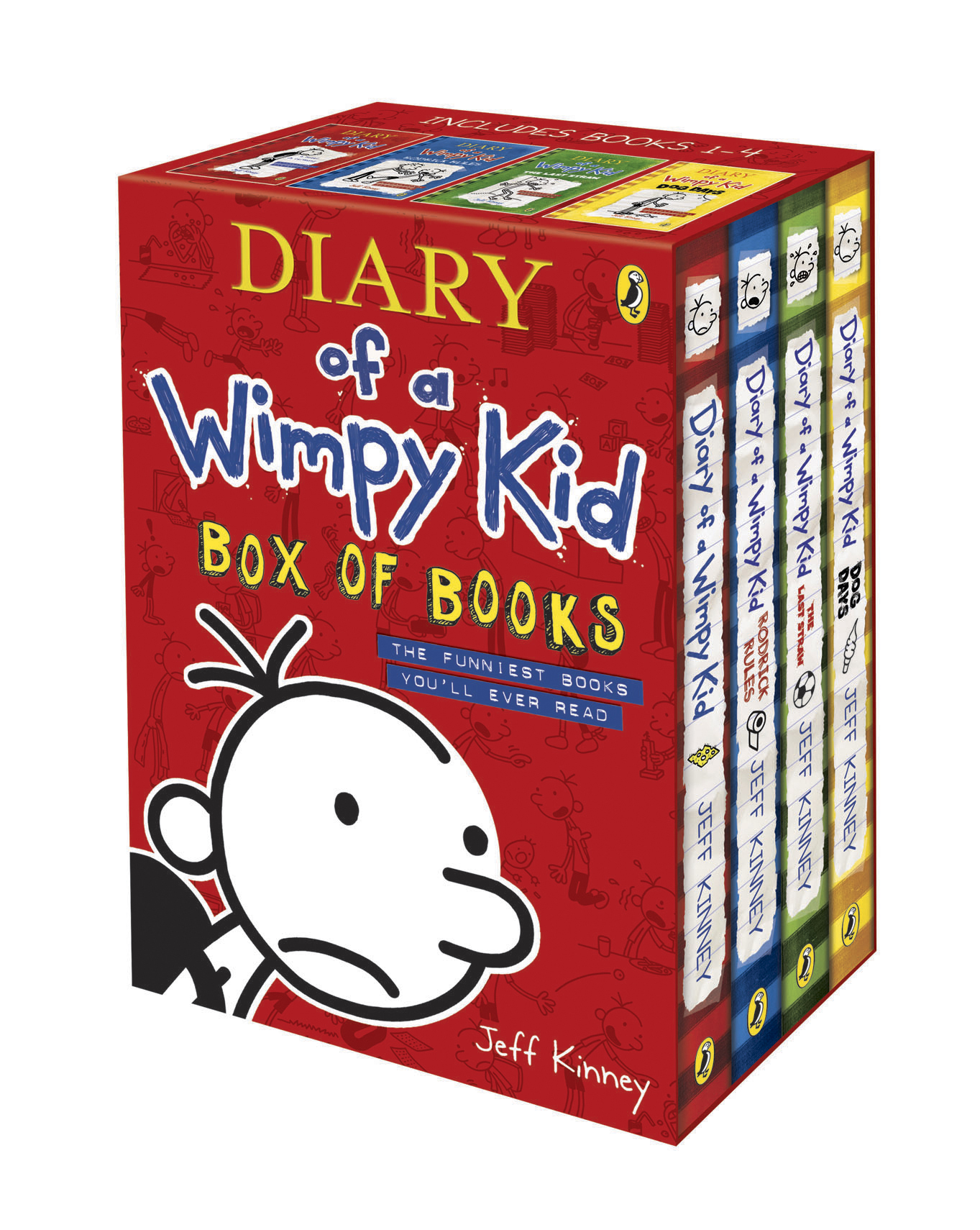 Diary of a Wimpy Kid Box of Books by Jeff Kinney, ISBN: 9780141341415
