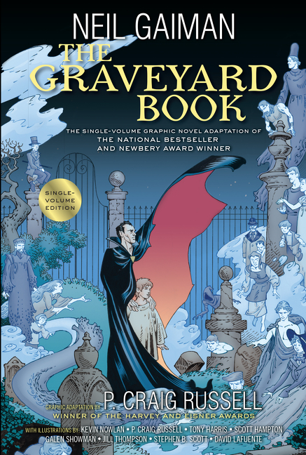 The Graveyard Book Graphic Novel Single Volume by Neil Gaiman, ISBN: 9780062421883