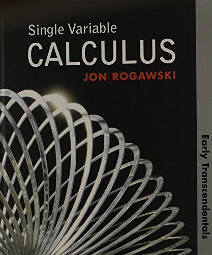 Booko search results for jon rogawski single variable calculus early transcendentals hs version fandeluxe Gallery