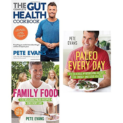 Booko comparing prices for gut health cookbook family food and gut health cookbook family food and paleo every day 3 books collection set by pete forumfinder Images