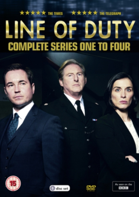 Line of Duty - Series 1-4 [DVD] by RLJ Entertainment, ISBN: 5036193033544