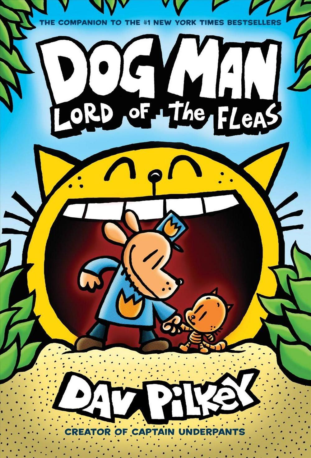 Dog Man: Lord of the Fleas: From the Creator of Captain Underpants (Dog Man #5) by Dav Pilkey, ISBN: 9781338290912