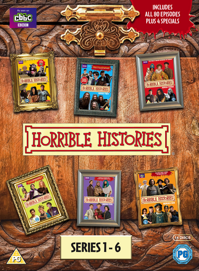 Cover Art for Horrible Histories: Series 1-6 [Region 2], ISBN: 5051561040610