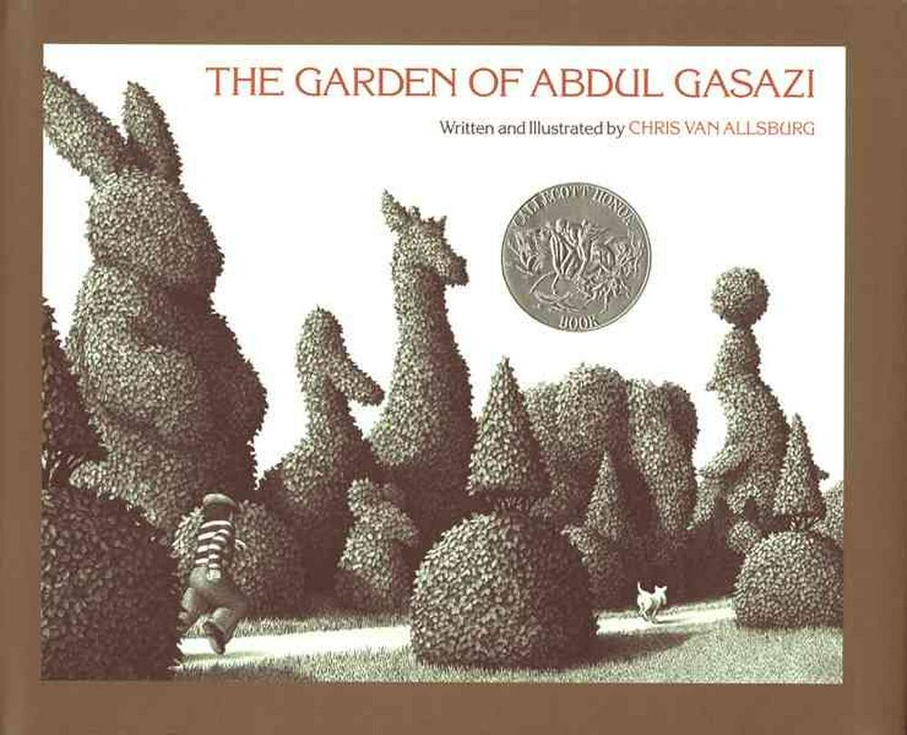 Cover Art for The Garden of Abdul Gasazi, ISBN: 9780395278048