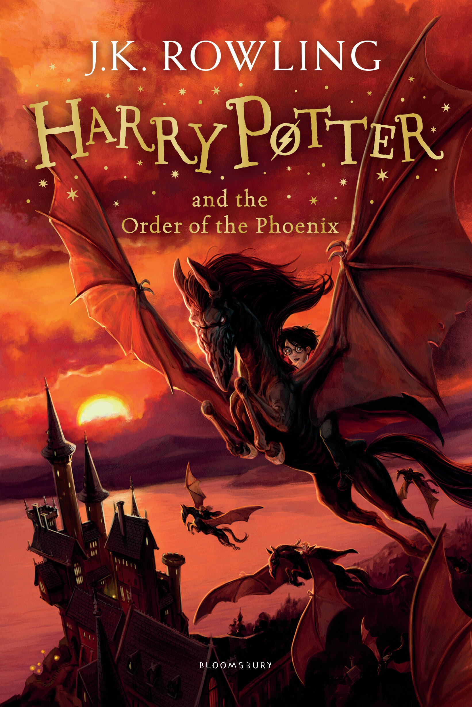 Harry Potter and the Order of the Phoenix by J.K. Rowling, ISBN: 9781408855935