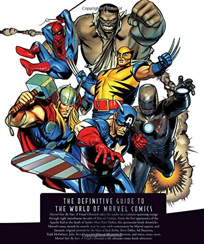 Marvel Year by Year by Peter Sanderson, ISBN: 9781465414434