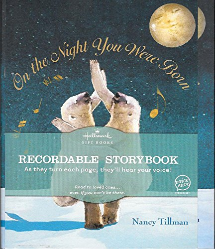 Hallmark Recordable Book On The Night You Were Born by Nancy Tillman, ISBN: 9781595303196