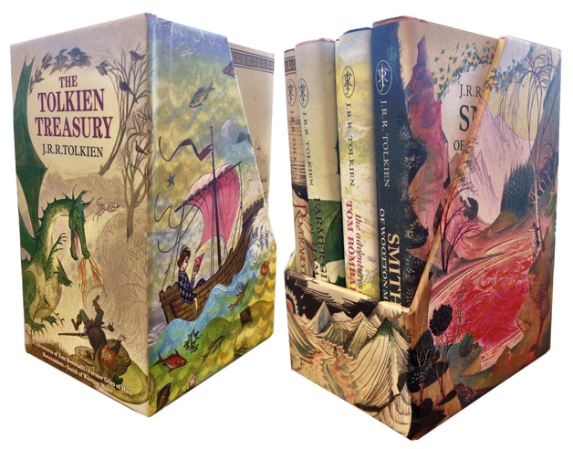 The Tolkien Treasury: Roverandom, Farmer Giles of Ham, The Adventures of Tom Bombadil, Smith of Wootton Major