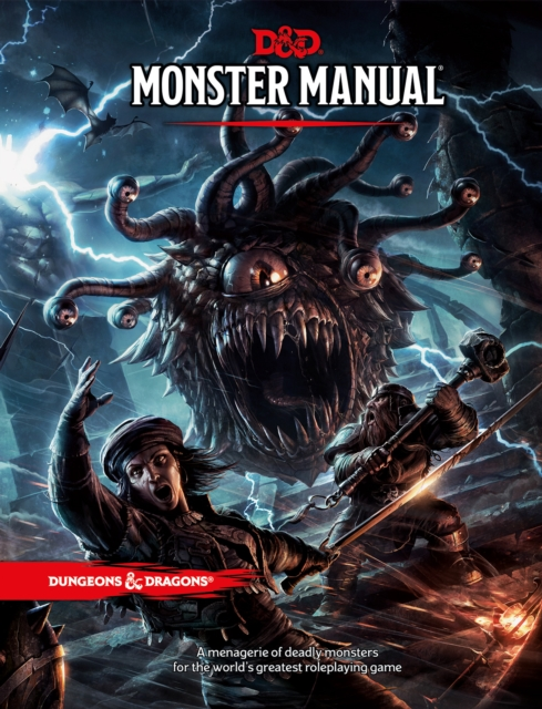 A Dungeons & Dragons Monster Manual Core Rulebook