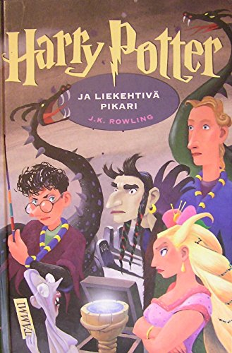 Harry Potter ja liekehtiva pikari Goblet of Fire Finnish