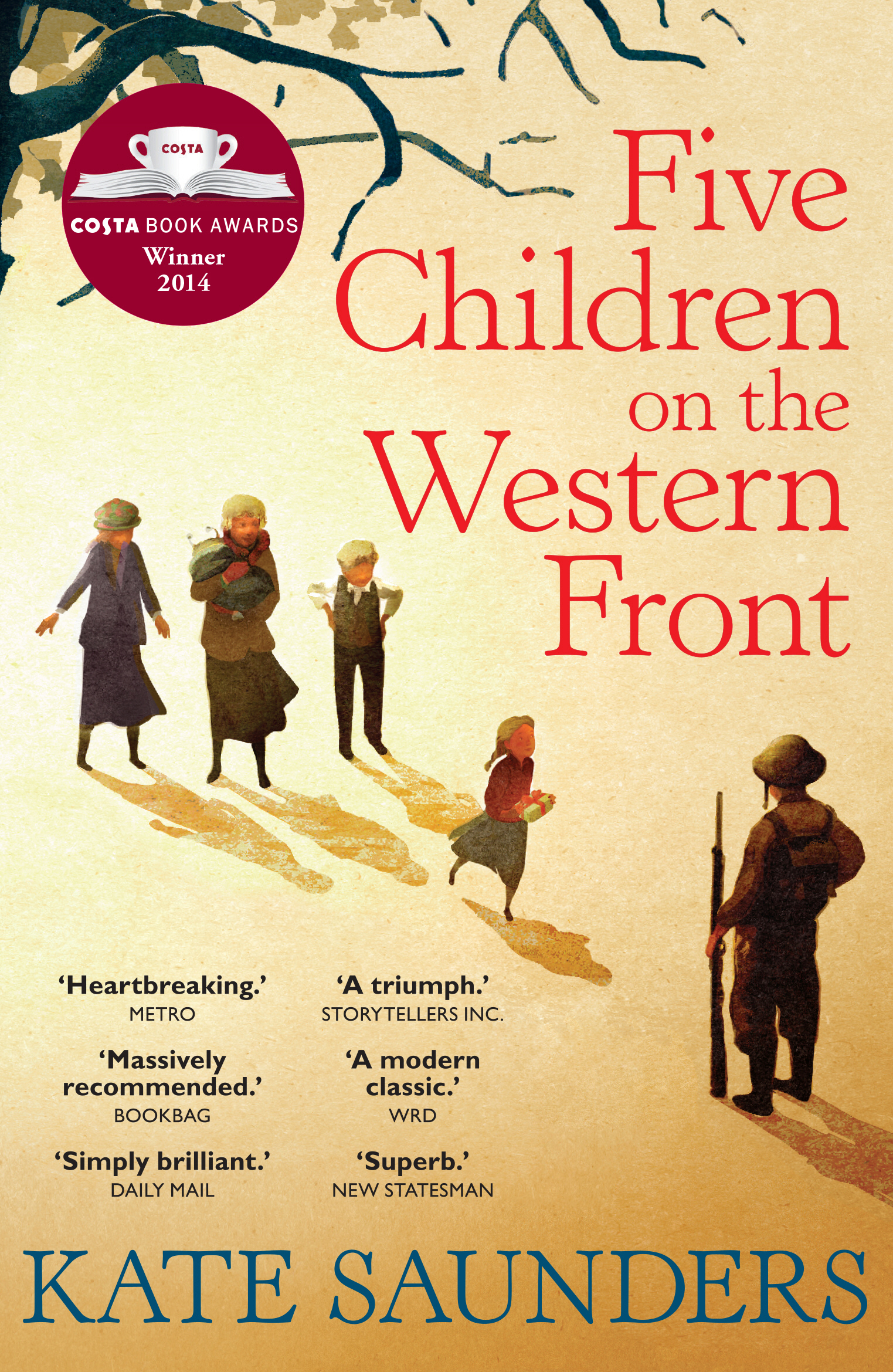 Cover Art for Five Children on the Western Front, ISBN: 9780571323180