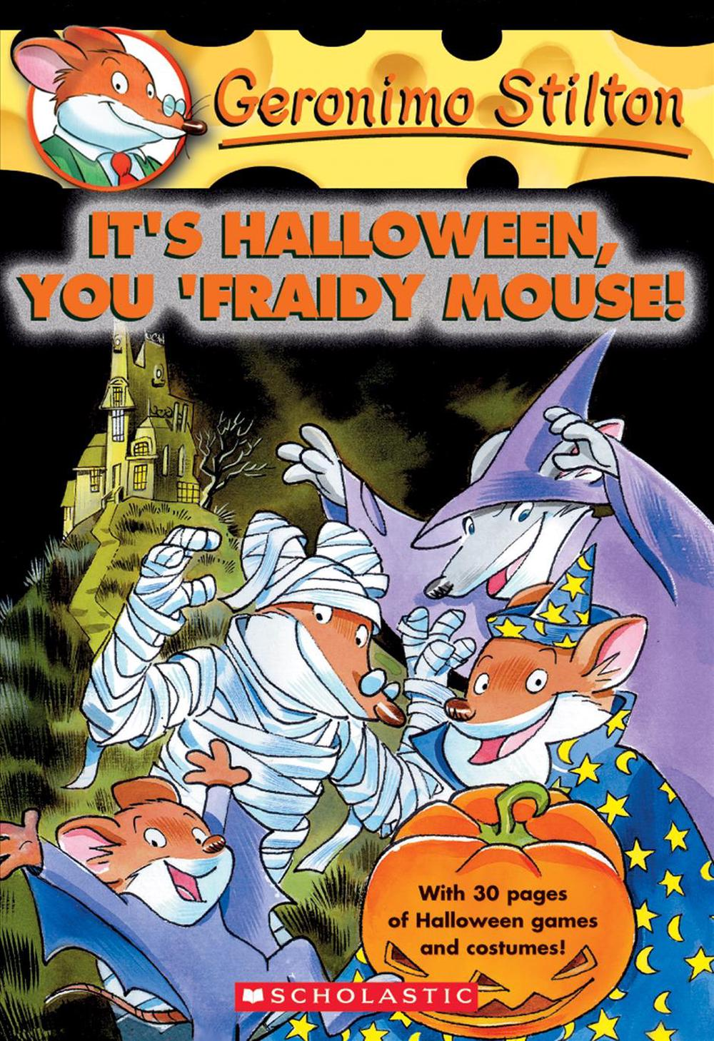 It's Halloween, You Fraidy Mouse!