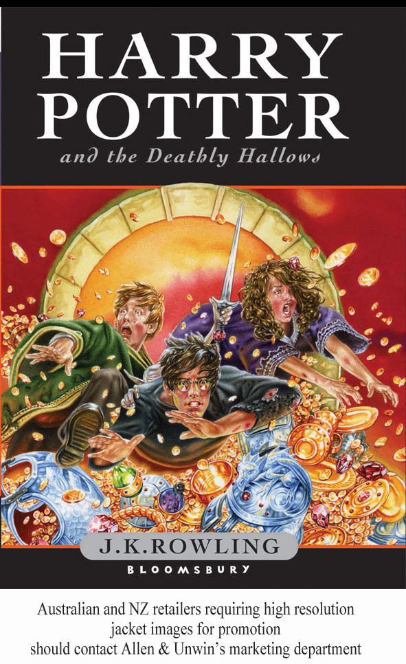 Harry Potter and the Deathly Hallows children's jacket edition
