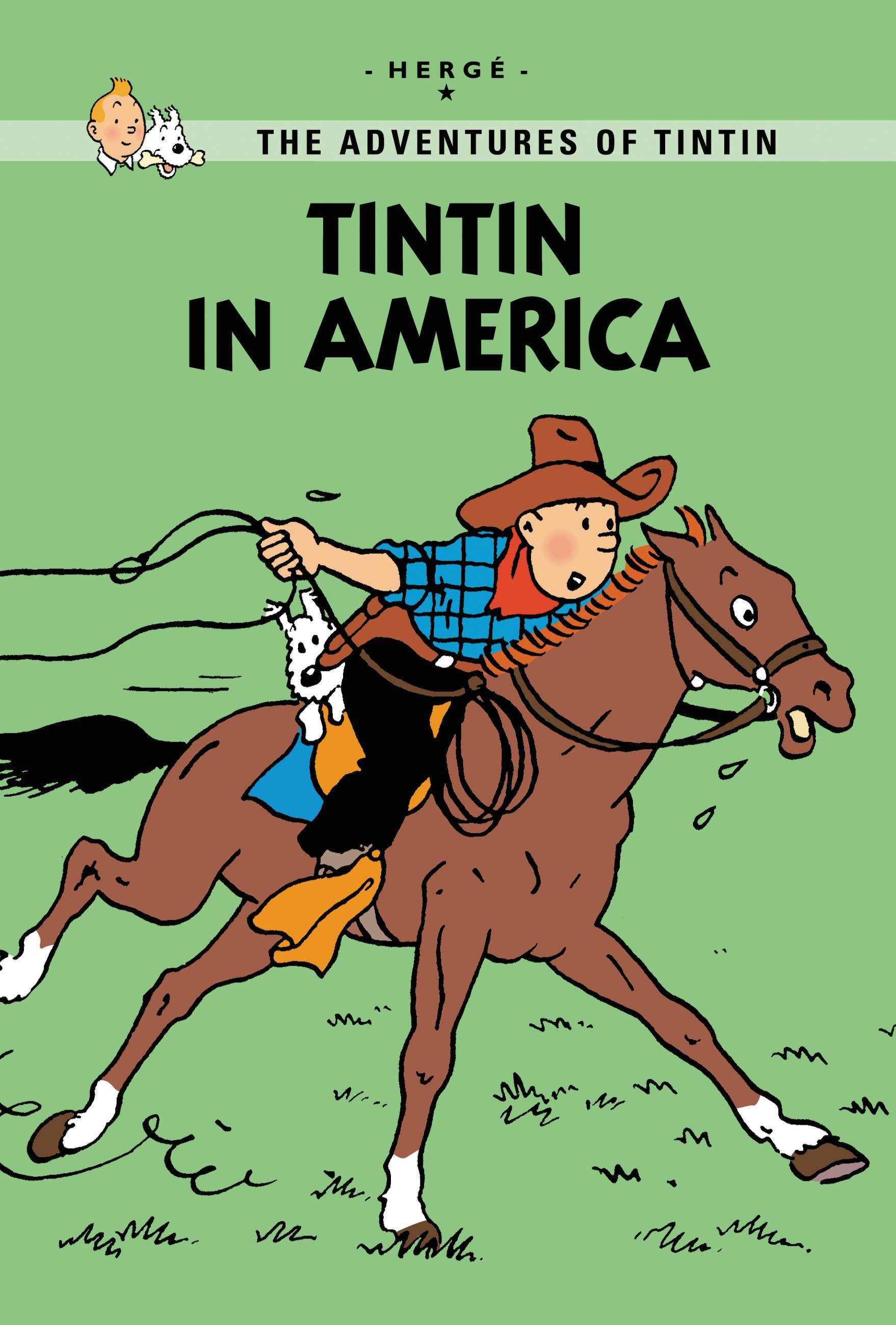 Cover Art for Tintin in America, ISBN: 9780316133807