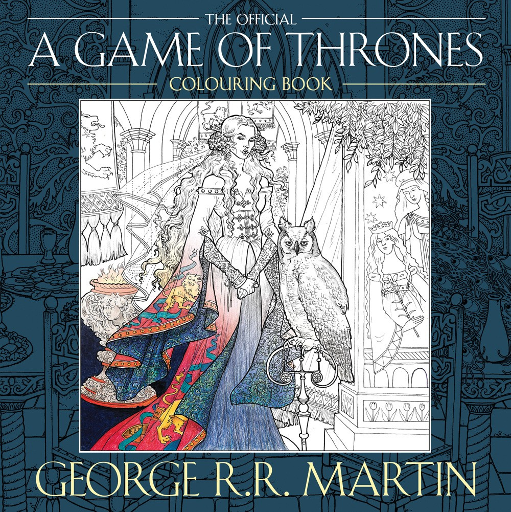 George R. R. Martin's Game of Thrones Colouring Book