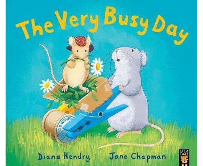 The Very Busy Day by Diana Hendry,Jane Chapman, ISBN: 9781848695085
