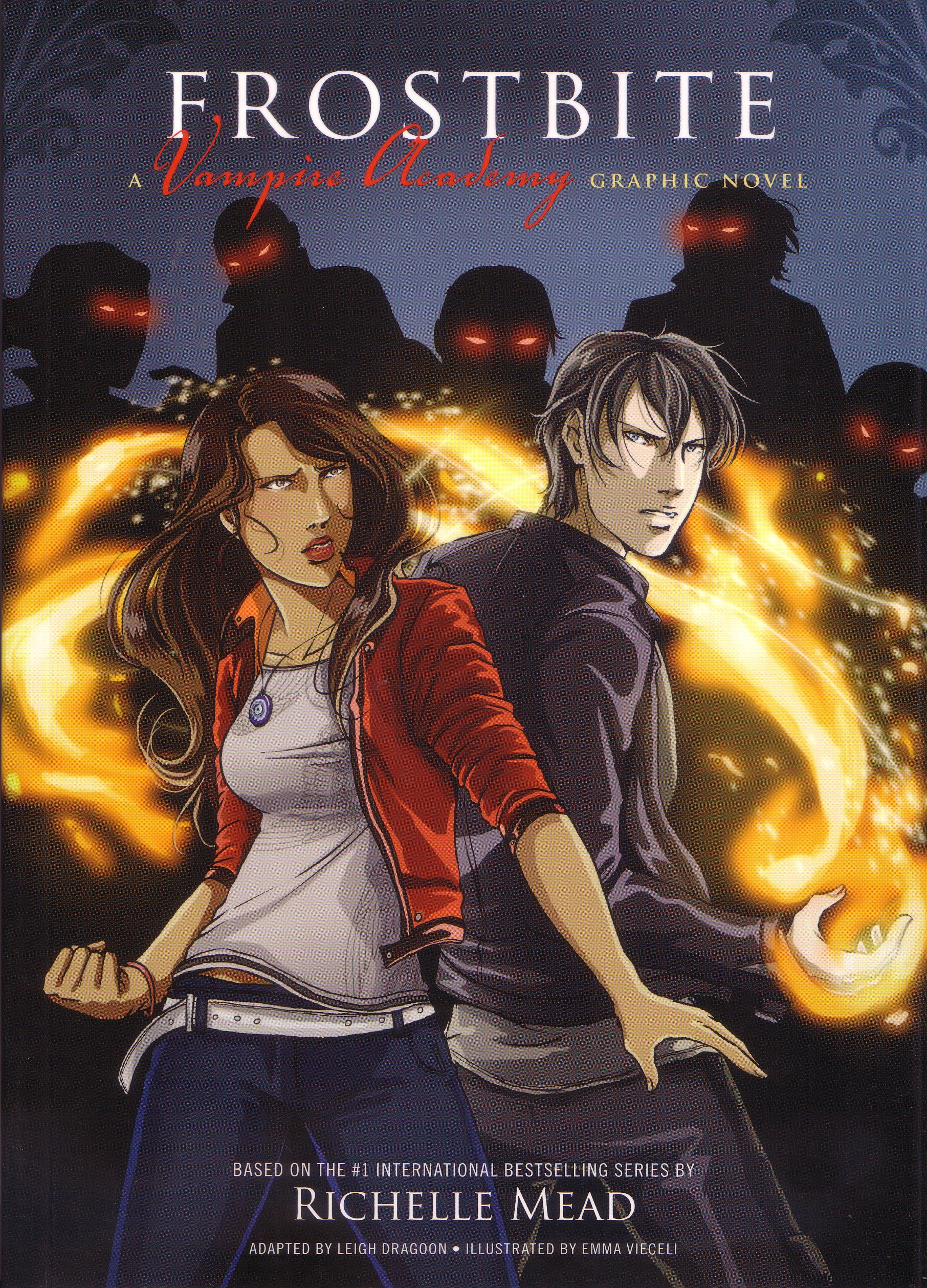Frostbite: Vampire Academy Graphic Novel Book 2 by Emma Vieceli & Richelle Mead, ISBN: 9781921518973