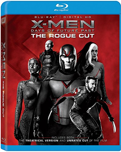 X-Men: Days of Future Past the Rogue Cut [Blu-ray] by Unknown, ISBN: 0024543144366