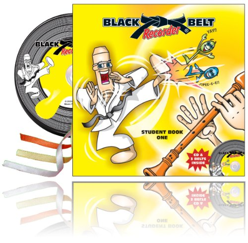 Black Belt Recorder - Student Book One Book & CD