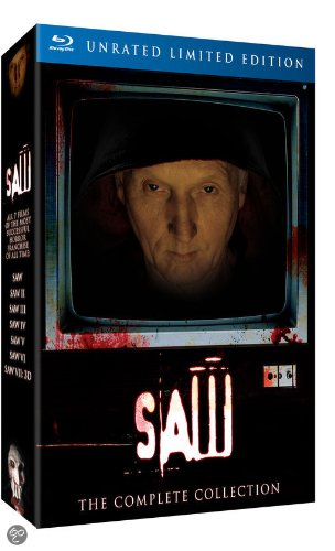 SAW 1-7 Box Set - UNRATED LIMITED EDITION - The Complete Collection[Blu-Ray] [import]