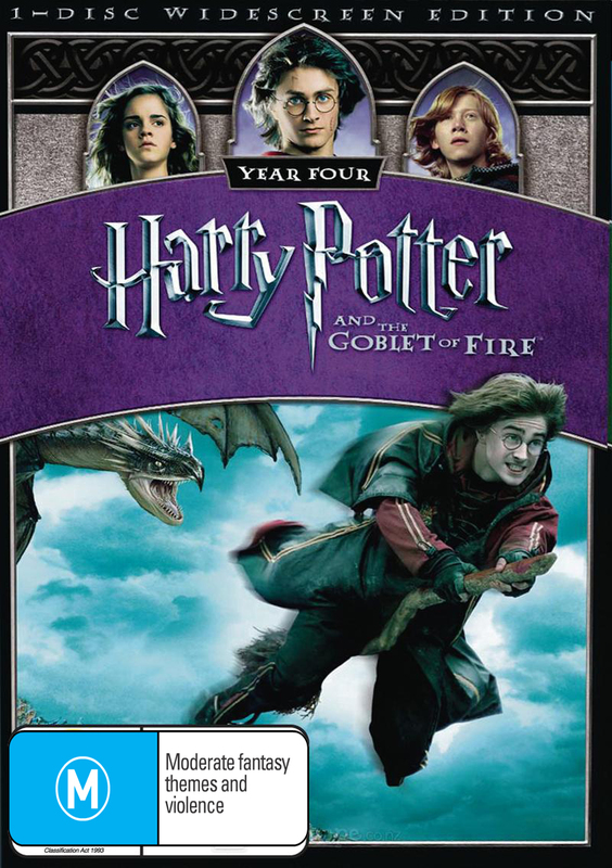 Harry Potter and the Goblet of Fire Widescreen Edition