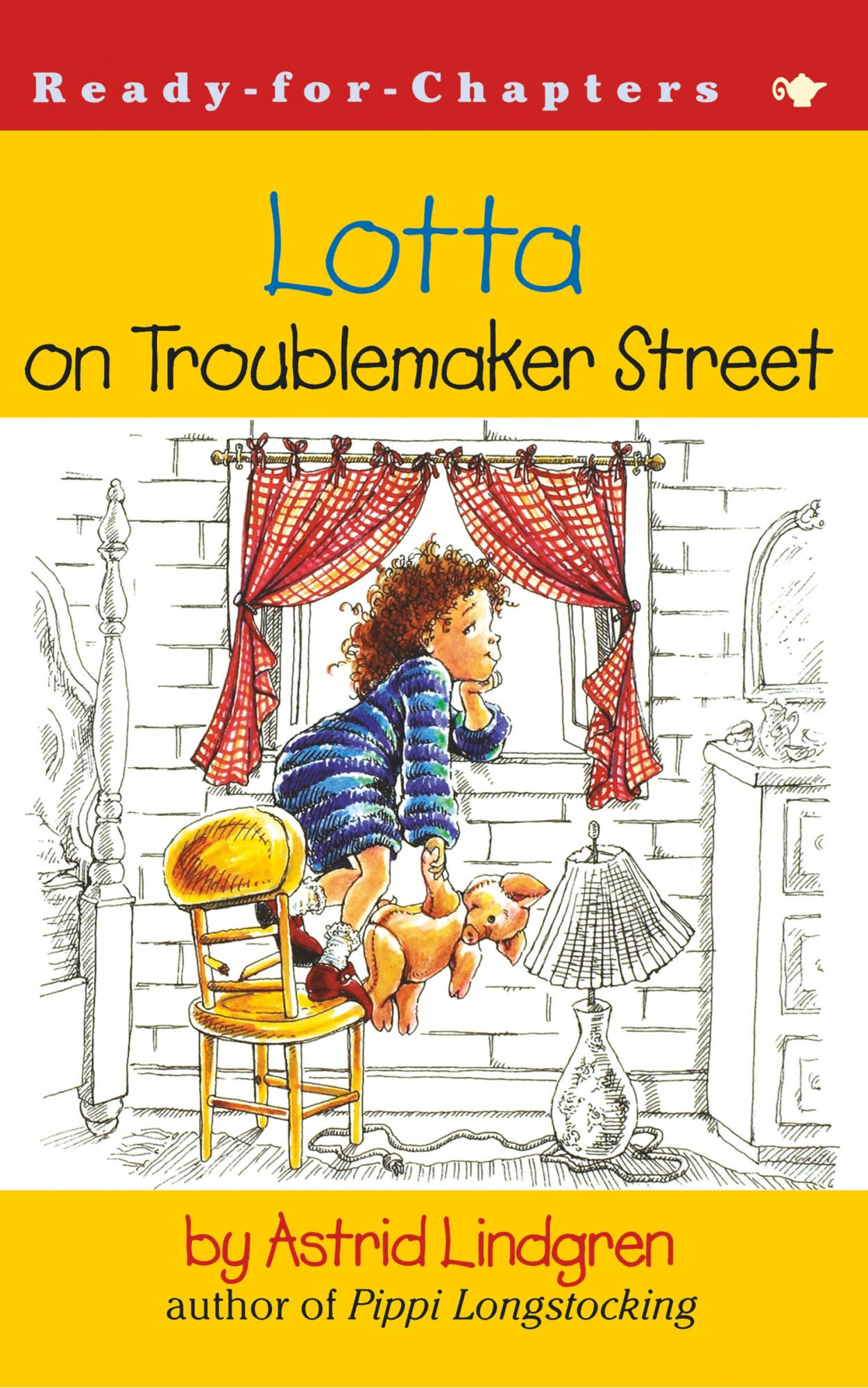 Lotta on Troublemaker Street by Astrid Lindgren, ISBN: 9780689846731