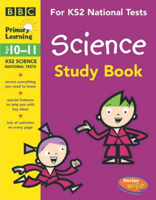 KS2 Revisewise Science Study Book by Jane Webster, ISBN: 9780563515579