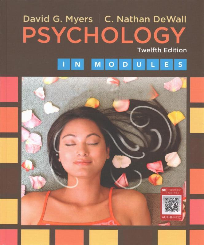 Psychology In Modules 12e