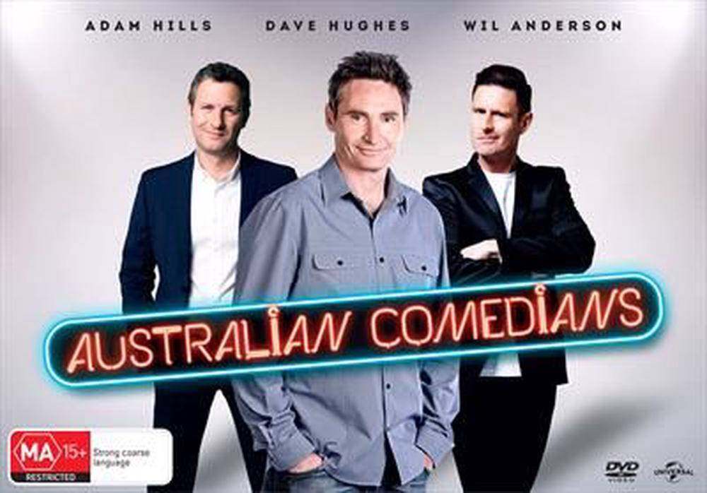 Australian Comedians Boxset (Region 4) by Unknown, ISBN: 9317731116513